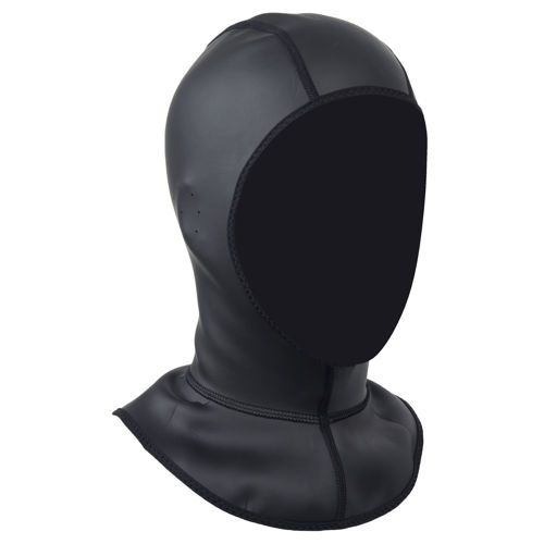 Stay warmer by covering your entire head and neck with the NRS Mystery Storm Hood.