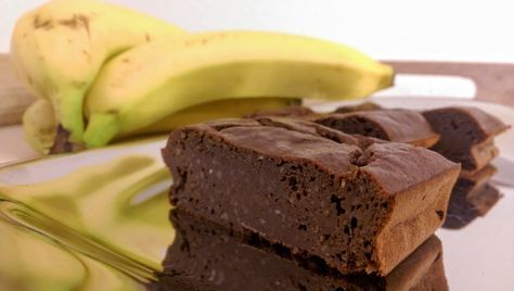 Vegane Bananen-Brownies