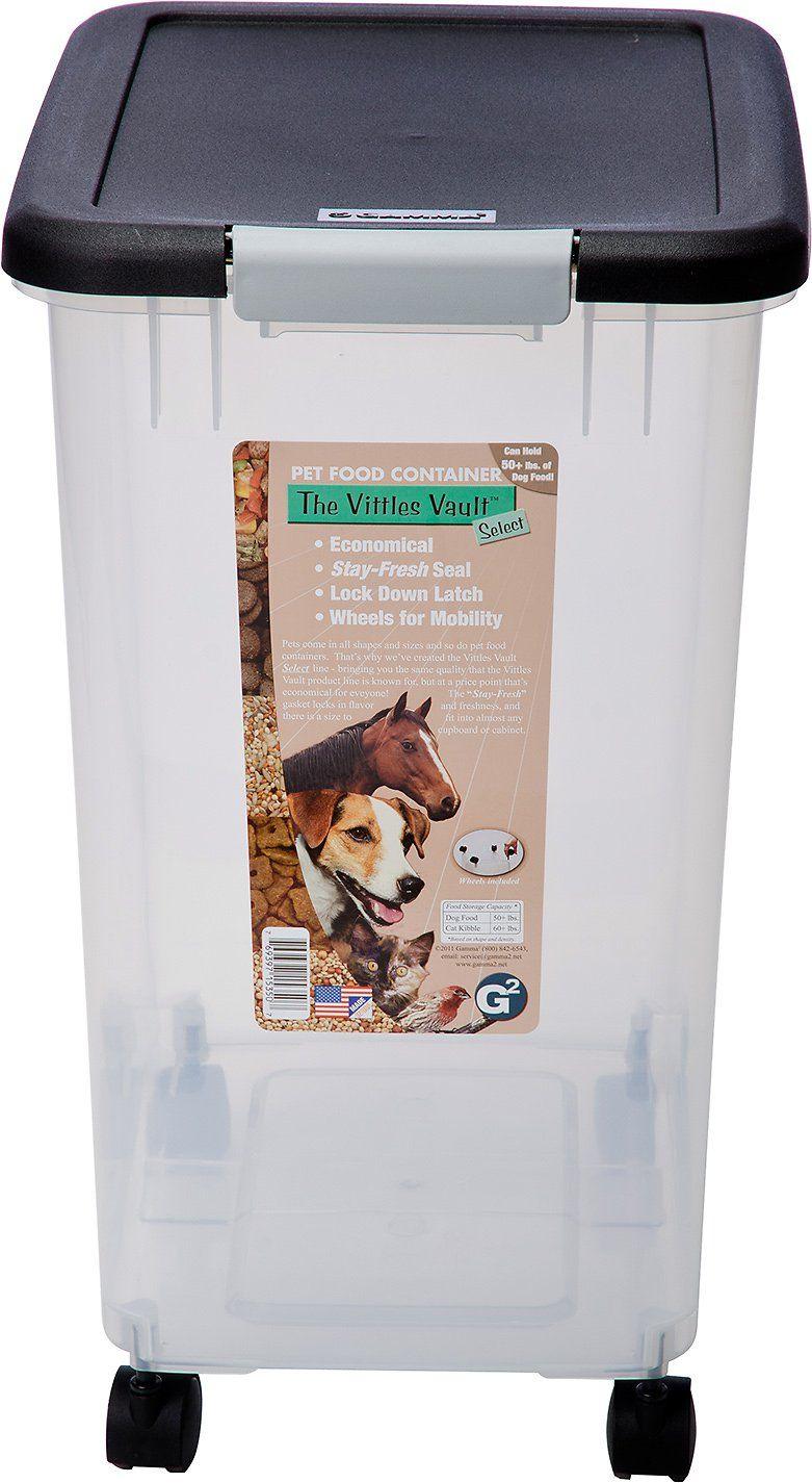 Gamma2 vittles vault select pet food storage 50lb pet
