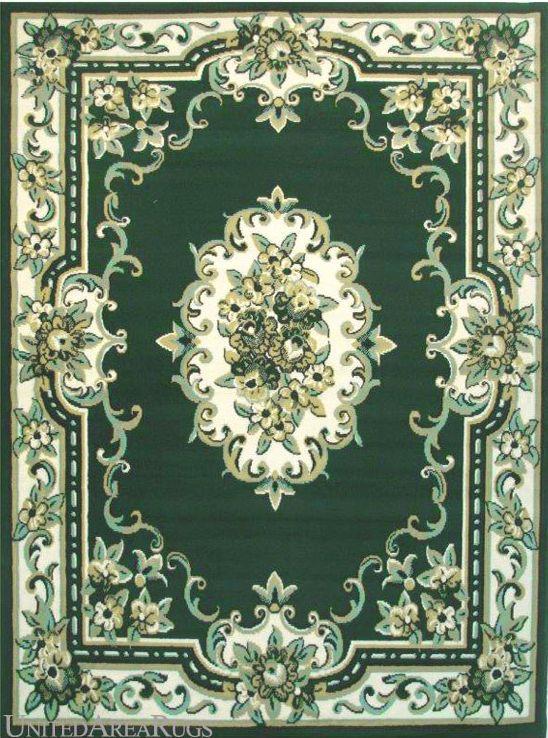 5x7 Area Rug Traditional Oriental Persian Medallion Design Aubusson Green New Arraiolos Lar Papeis De Parede
