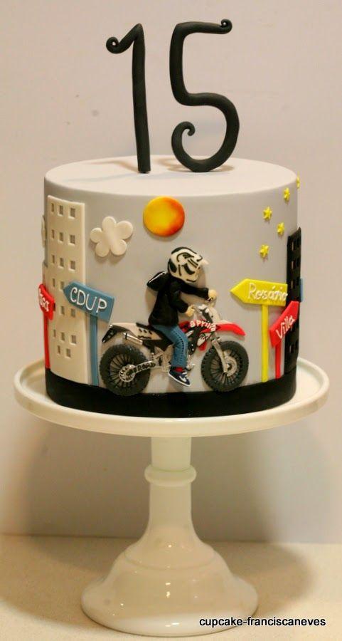 Cupcake Torta De Motos Pastel De Moto Tortas Tematicas
