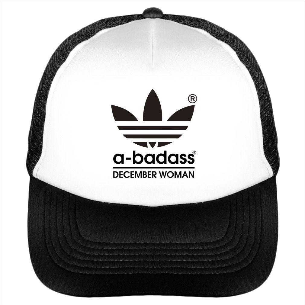29df9129eb4bc A-badass December woman  December  A-badass  December woman  Hat  Trucker. Month  t-shirts