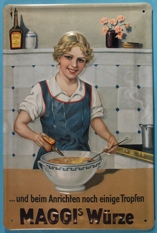 Best Of Blechschilder Nostalgie Küche