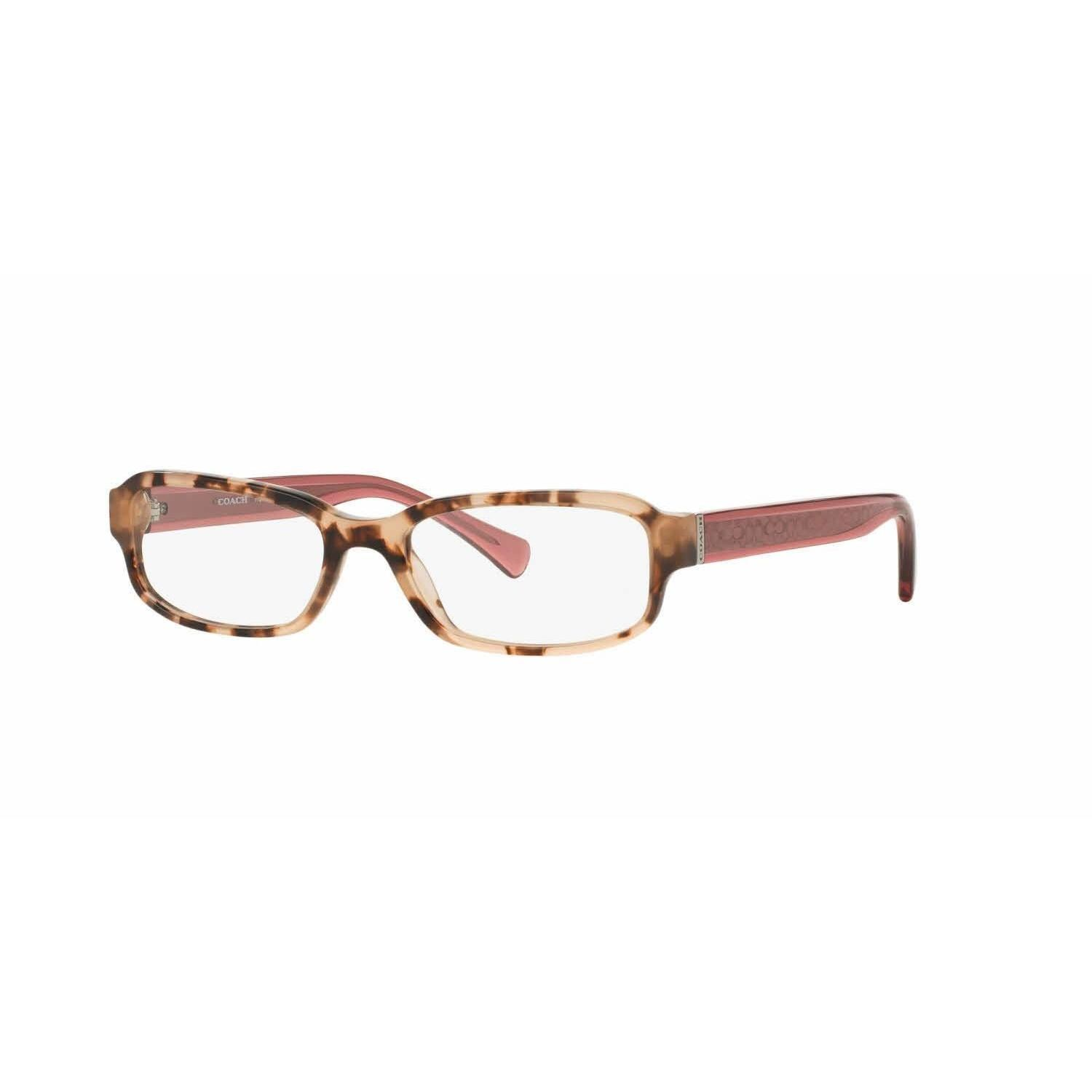 Coach Womens HC6083 5356 Havana Rectangle Eyeglasses | Products ...