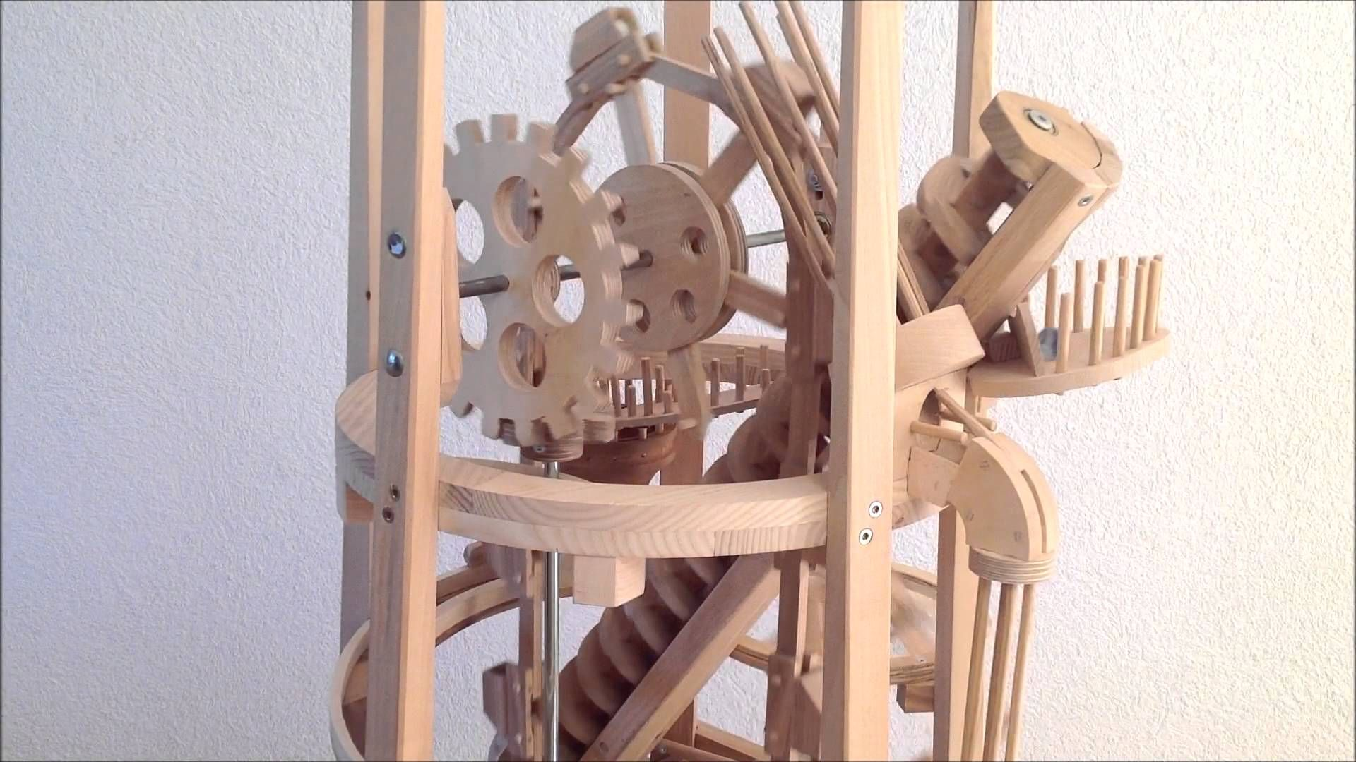 One Of Seven Amazing Marble Machines By Paul Grundbacher