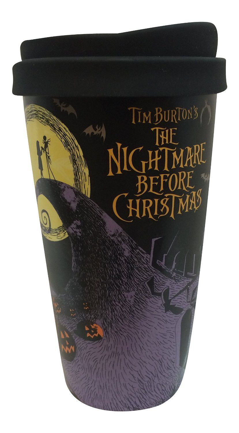 Disney The Nightmare Before Christmas Ceramic Tumbler Double Wall ...
