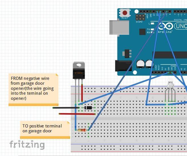 Diy Arduino Fingerprint Garage Door Opener Pinterest Garage Door