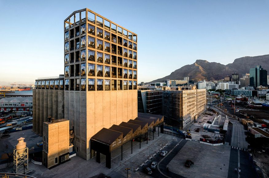 Zeitz Museum of ContemporaryArt Africa (MOCAA) by