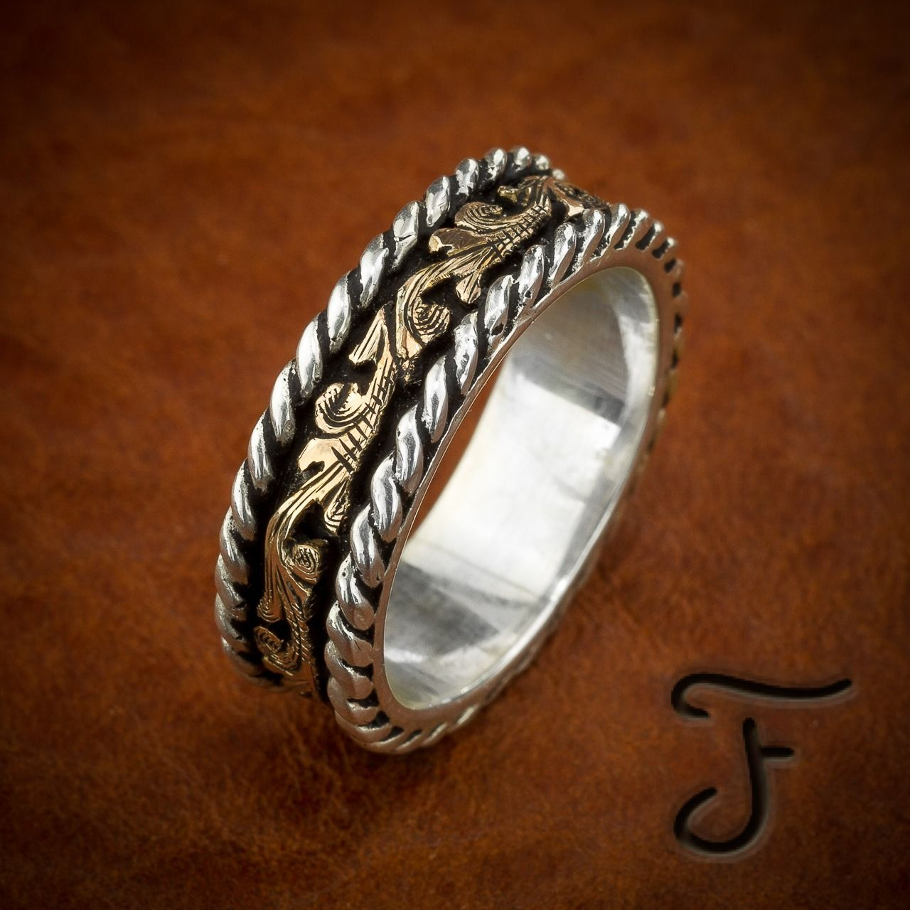 Our western rings are made with a flair that is uniquely