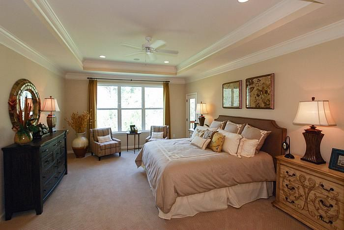 elegant master suite at waterford glen in rock hill