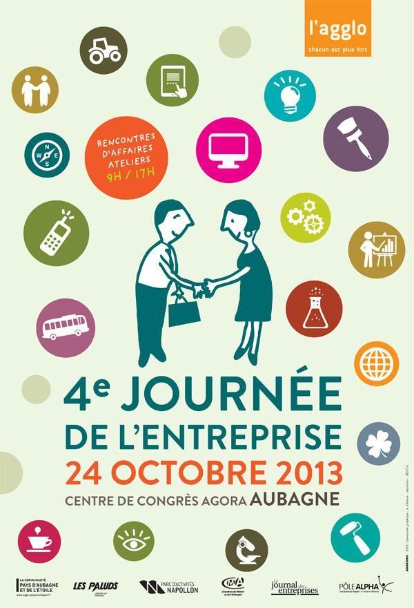 4e journée de l'entreprise. Le jeudi 24 octobre 2013 à Aubagne.