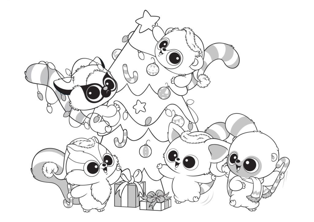 Beanie Boo Coloring Pages Christmas Coloring Pages Santa