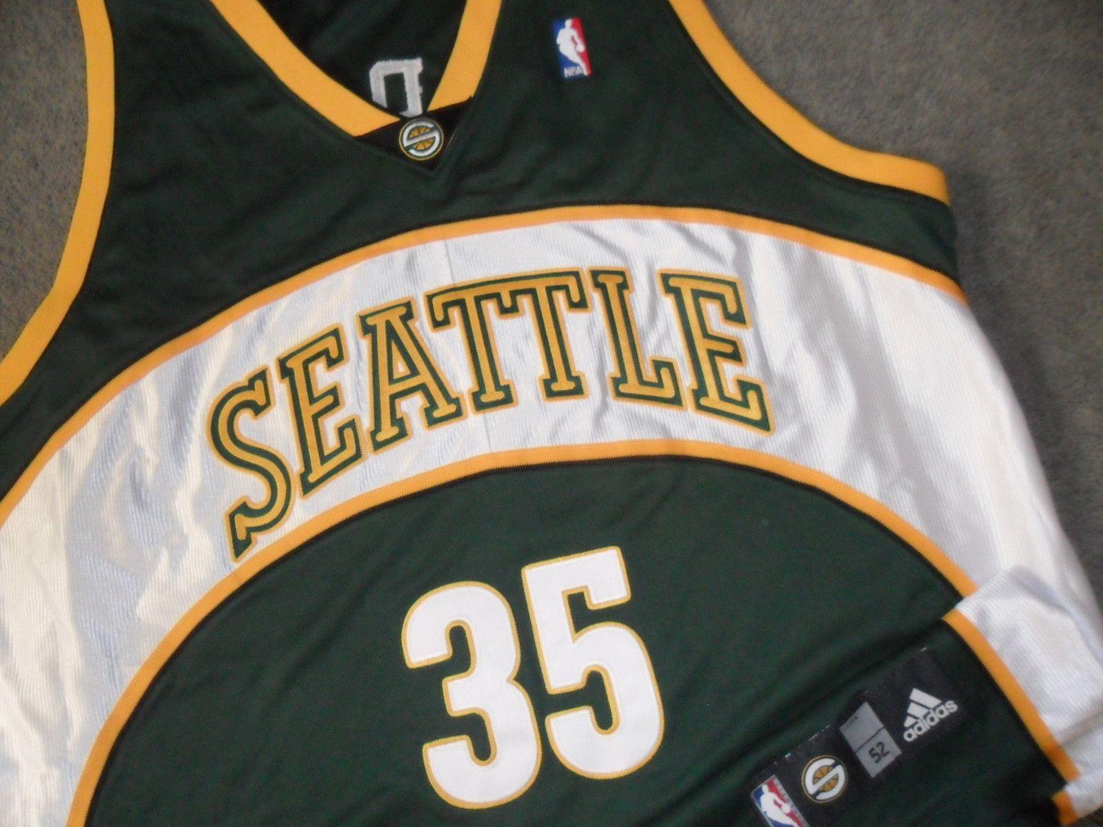 quality design d7706 00faf Durant - Seattle Supersonics Authentic Jersey Sonics | eBay ...