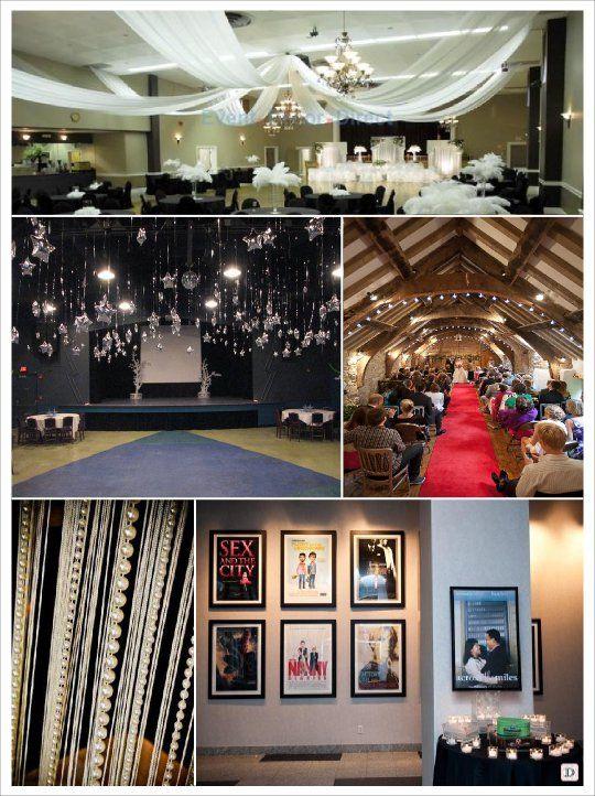 Deco Salle Cinema deco mariage theme cinema idees | filmes témájú esküvők - movie