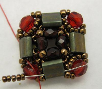 Layered Tila Bracelet Tutorial | MyAmari