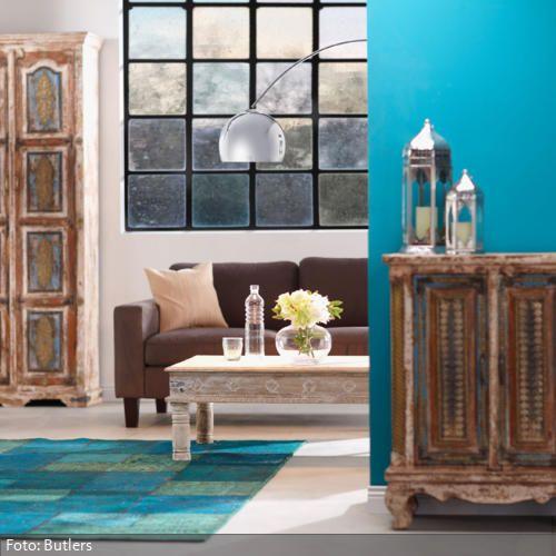 Orientalischer Stil einrichtung im orientalischen stil holzmöbel kühler und