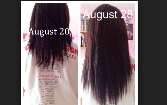 In Just 1week How To Grow Your Hair 3 4 Inches Longer Thick Hair Styles Grow Long Hair Diy Hairstyles