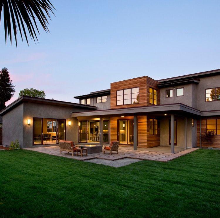 Pin de humberto guerrero en house pinterest casas for Casas modernas acogedoras