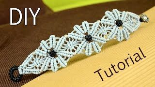 A Colorful Macrame Bracelet - Easy Tutorial [DIY] - YouTube