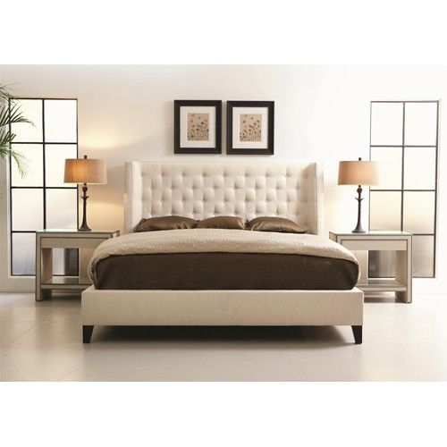 Bernhardt Interiors Beds Maxime Queen Upholstered Bed