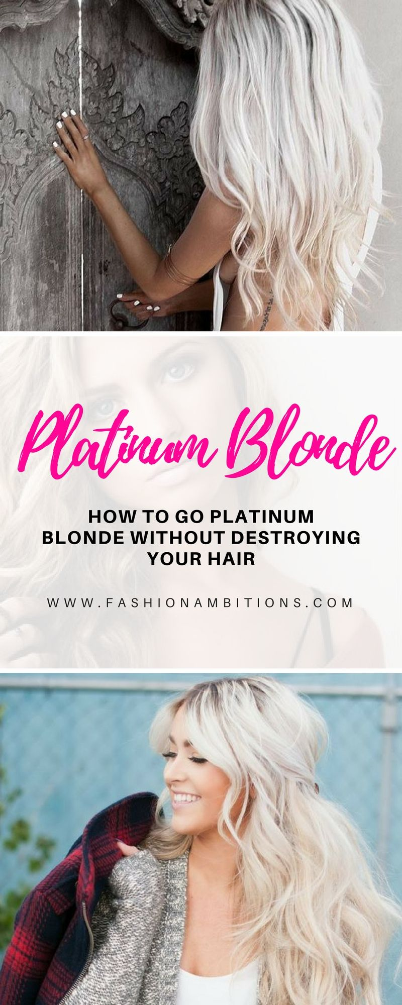 Want To Go Platinum Blonde Here's How To Do It Without