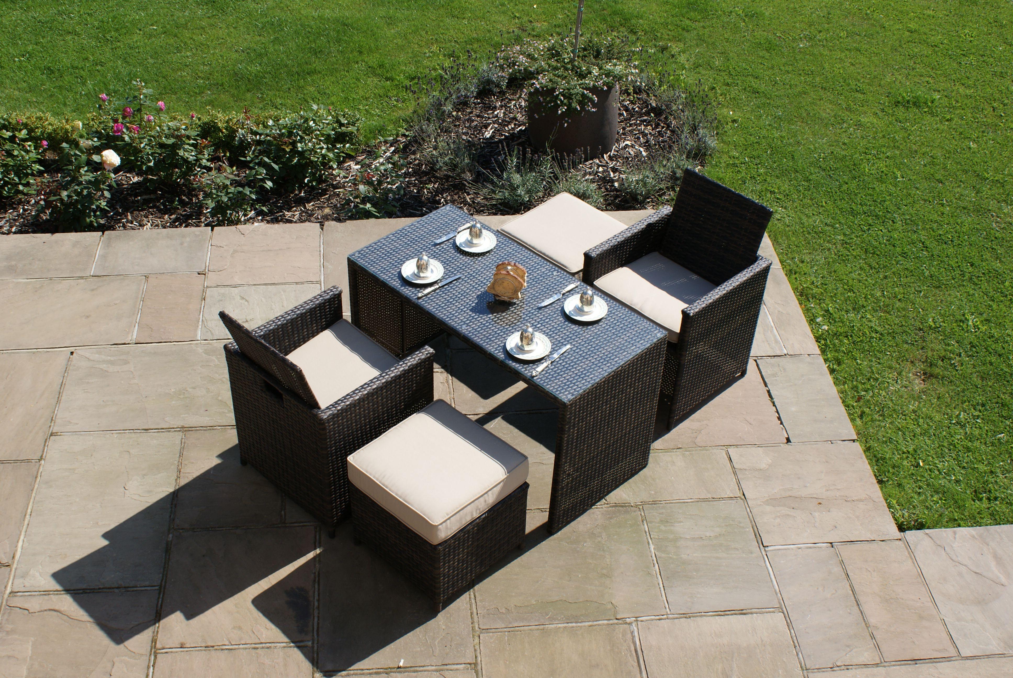 Front Page Rattan Furniture Set Outdoor Garden Furniture Garden Dining Set