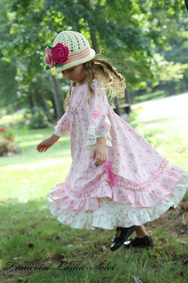bedc68579e3e Custom easter birthday flower girl portrait twirl dress - Paris Chic  Angelique - French European children's boutique couture clothes