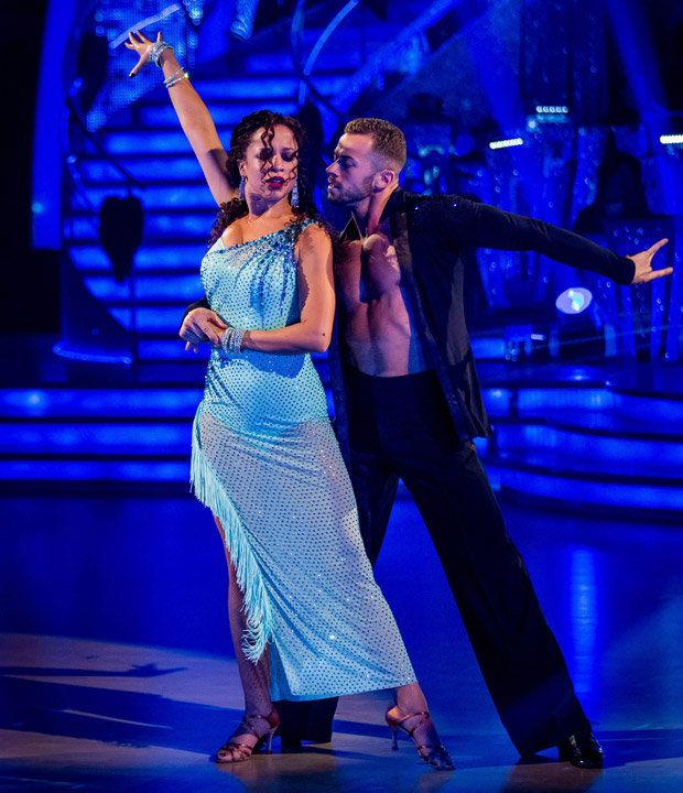FAVOURITE: Bookies' favourite Natalie Gumede whirls away [PA]