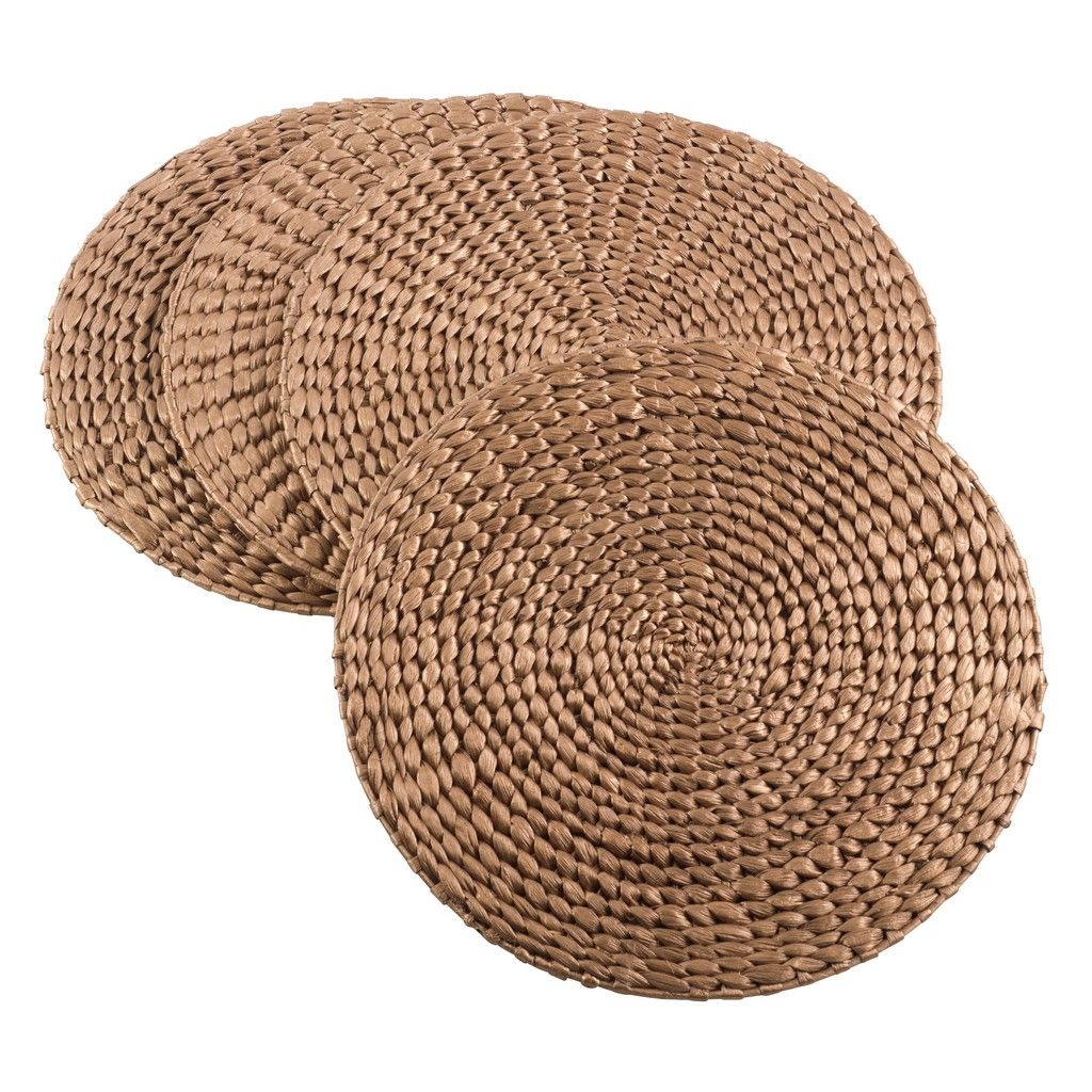 Woven Water Hyacinth Placemat (Set of 4) - Saro Li