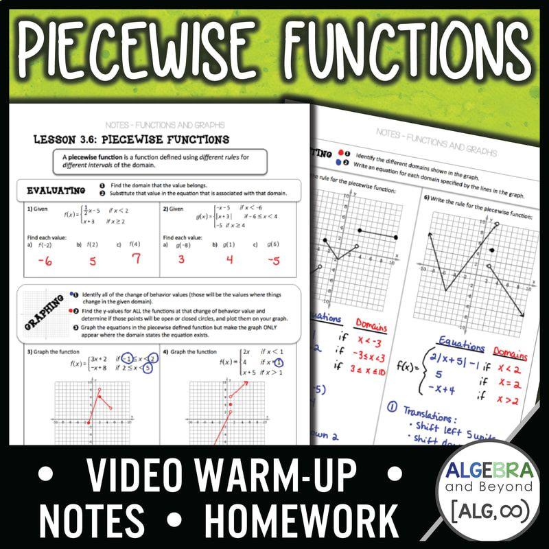 28 Worksheet Piecewise Functions Algebra 2 Answers Linear Functions Worksheet Algebra 2 For In 2020 Functions Algebra Linear Function Algebra