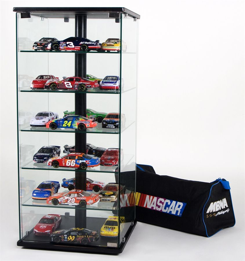 4 Sided Display Case For Die Cast Cars And Collectibles Trophy Display Case Display Case Trophy Display