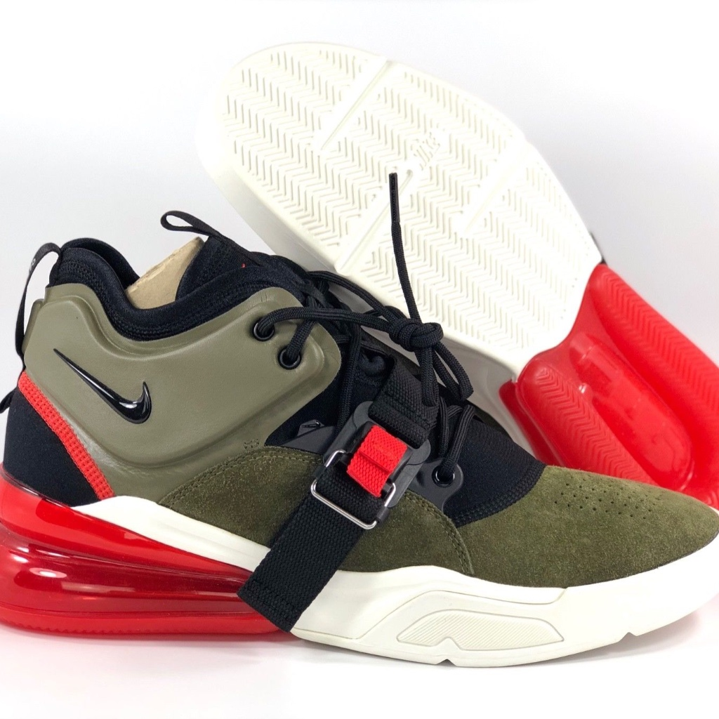 Nike Air Force 270 Medium Olive Green