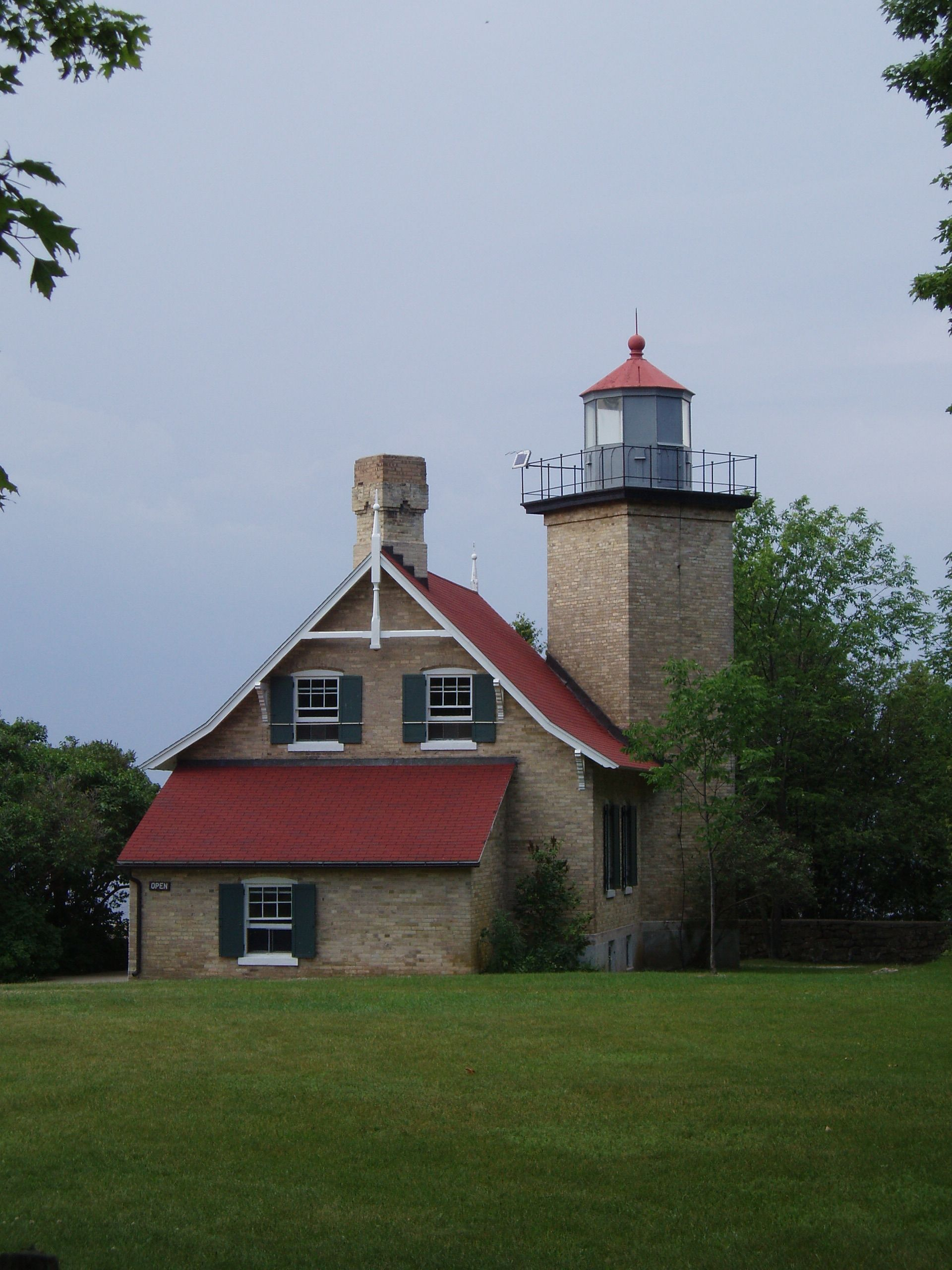 Eagle Bluff Lighthouse Door County Wisconsin Est. 1868 & Eagle Bluff Lighthouse Door County Wisconsin Est. 1868 | Lighthouses ...