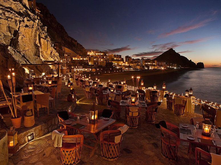 35 Most Amazing Restaurants With A View El Farallón In Cabo San Lucas Mexico