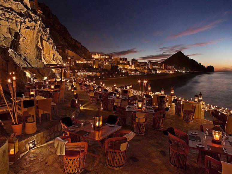 35 Most Amazing Restaurants With A View El Farallón In Cabo San Lucas Mexico