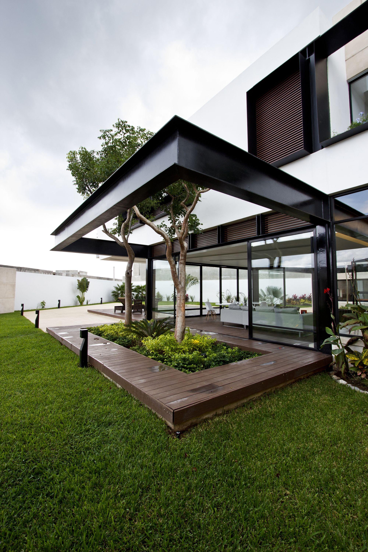 Комфортный современный дом в жаркой Мексике | House exterior design ...