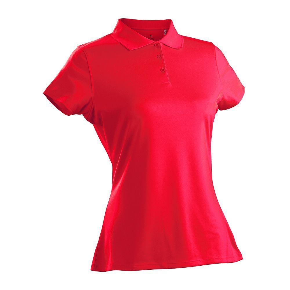 Plus Size Nancy Lopez Luster Golf Polo Womens Size 1xl Blue