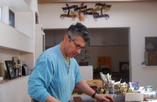 ivan barnett in his studio ivan barnett art pinterest studio