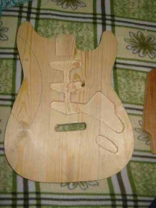 Electric Guitar From Scratch #electricguitars