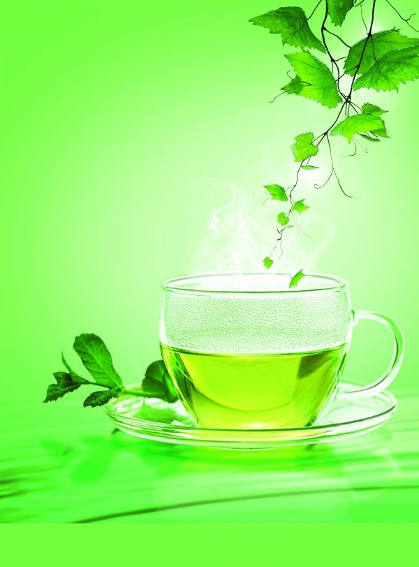 Tea Psd Layered Material Download The Creative Concepts Psd Material Flavoured Green Tea Detox Drinks Diet Drinks