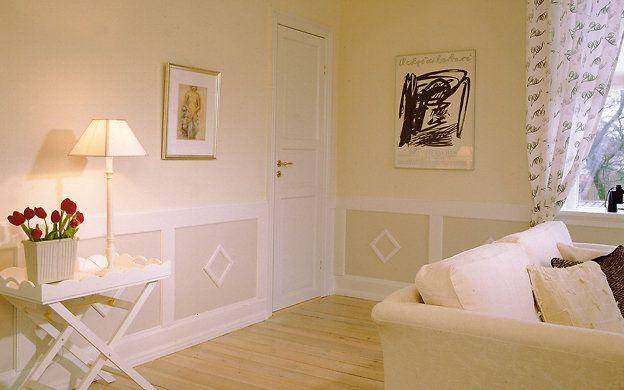 Wandverkleidung Im Landhaus Stil   DIY. WandverkleidungHolz IdeenLandhaus RenovierenRaumFrauenzimmerVorzimmerStilWohnungen