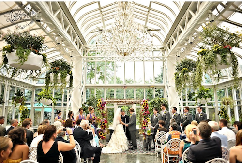 The Conservatory At Madison Hotel Wedding A Perfect Venue