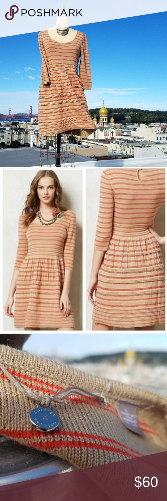ae45dcd1b22 Anthropologie Knitted   Knotted Elodie Dress