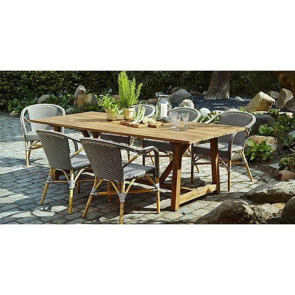 George Extension Table Extensions Outdoor Tables And Teak Wood - Teak extension table outdoor