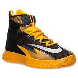 new product 10ea6 6f814 Men s Nike Zoom HyperRev Basketball Shoes   FinishLine.com   Black Metallic  Silver University Gold