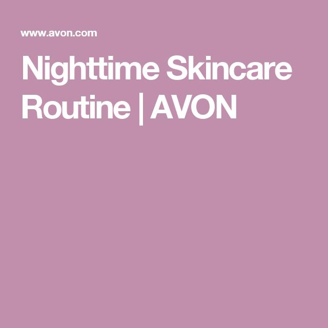 Nighttime Skincare Routine | AVON