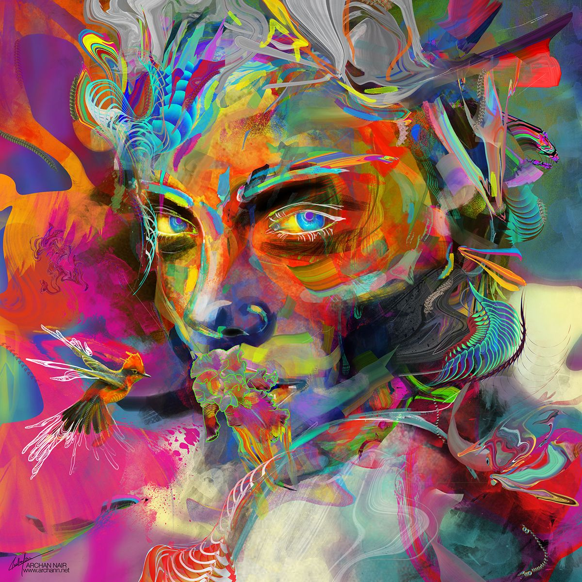 Color art digital - Interview With Digital Artist Archan Nair