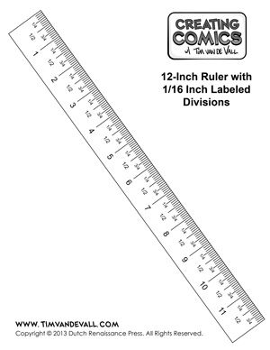 12 Inch Printable Ruler 1 16th Templates In 2019 Printable