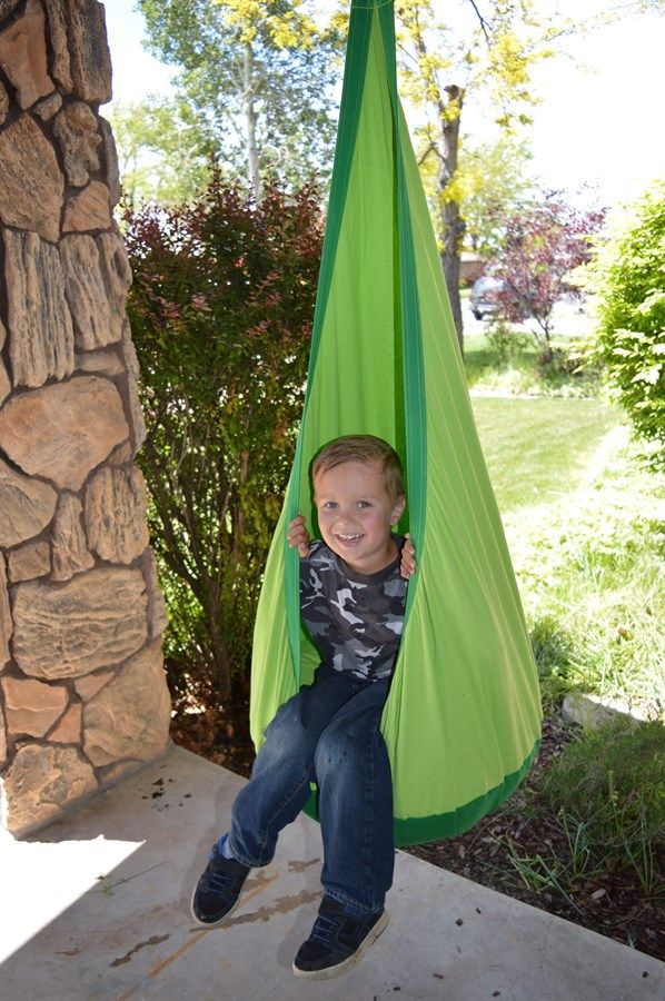 Sometimes you just need to get away and swing your cares away! This hammock/swing is the perfect addition to any home or tree. Set it up in your room, for a perfect nook to read in.