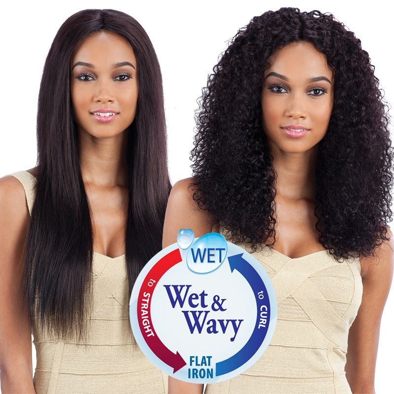 Naked Nature Wet Wavy 100 Brazilian Virgin Remy Hair Weave